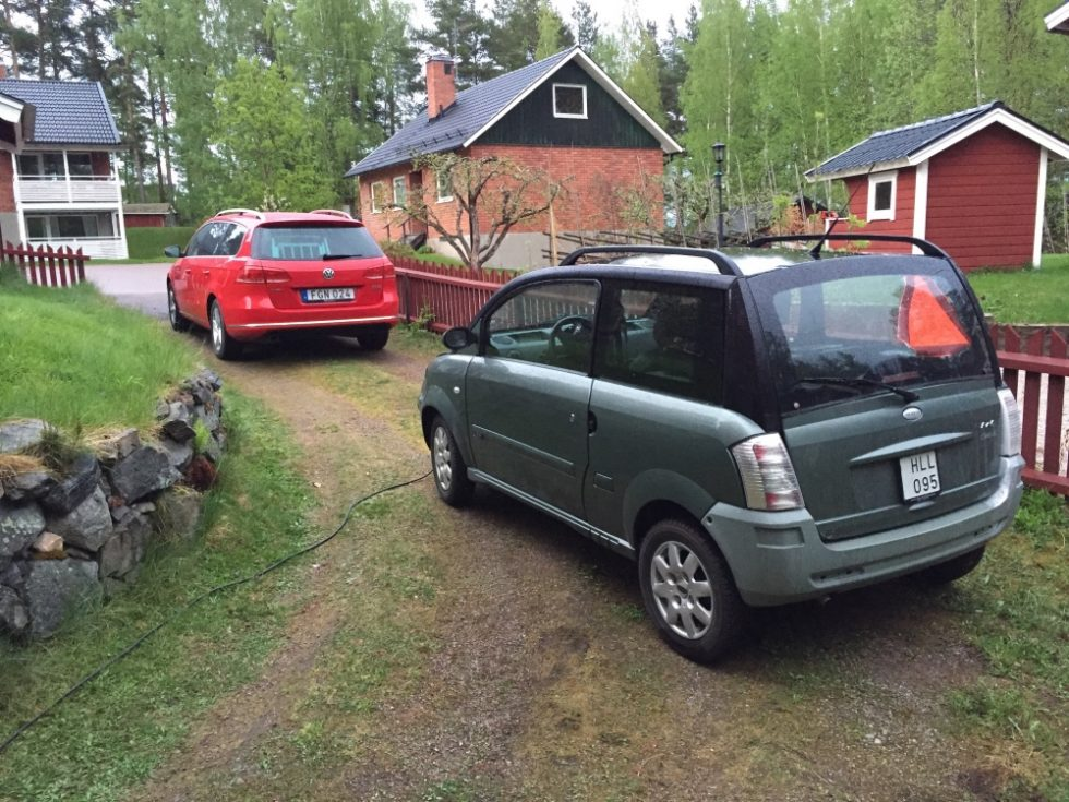 Familjens bilpark!