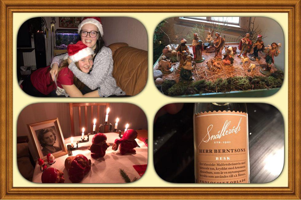 Litet julkollage