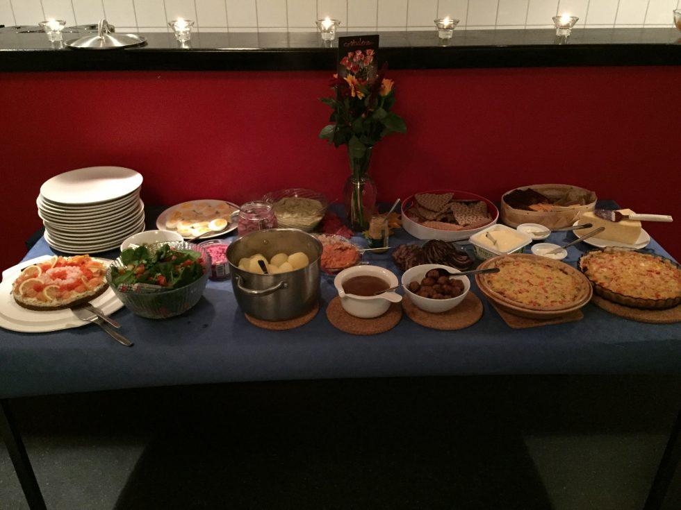 Mycket och god mat var det!