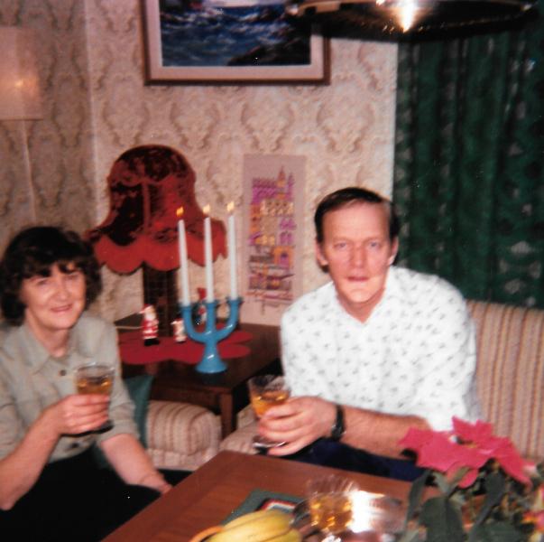 Mina älskade föräldrar!