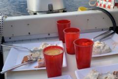 13/7 Middag i båten!