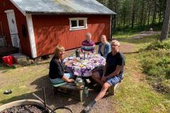 23/7 Fikastopp hos Åke & Anita